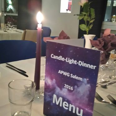 Candle Light Dinner - Pflegeheim Salem